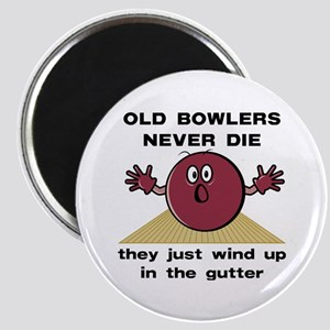 Old Bowlers Never Die Magnet