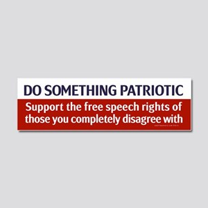 Do Something Patriotic Car Magnet 10 x 3