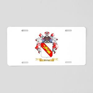 Gallup Aluminum License Plate