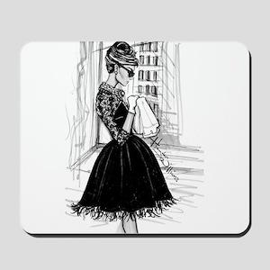 fashion sketch Mousepad