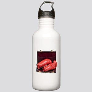 Boxing Gloves in a Bri Stainless Water Bottle 1.0L
