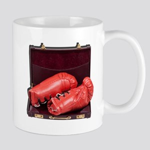 Boxing Gloves in a Briefcase Mugs