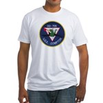 USS COMPTON Fitted T-Shirt