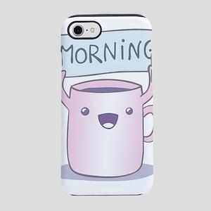 couple shirts good morning wak iPhone 7 Tough Case