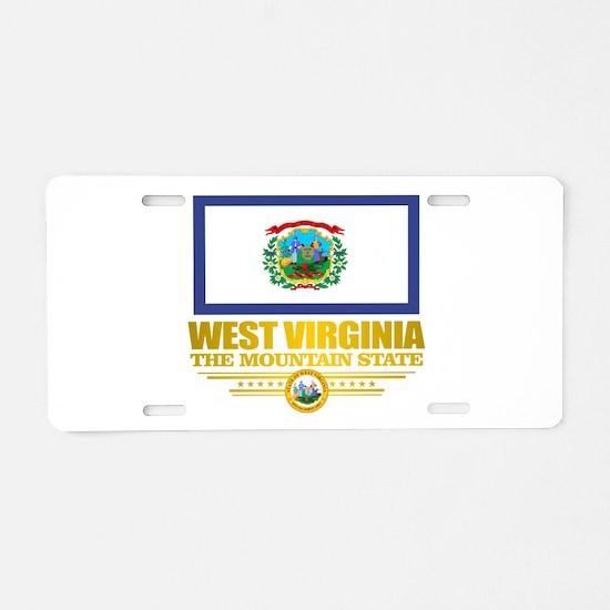 West Virginia (v15) Aluminum License Plate