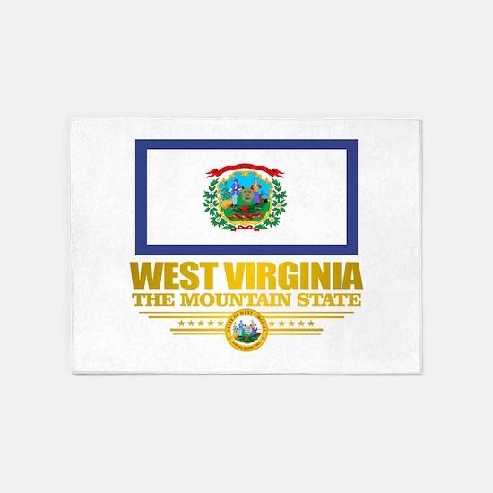 West Virginia (v15) 5'x7'Area Rug