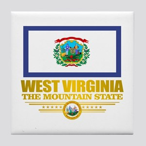 West Virginia (v15) Tile Coaster