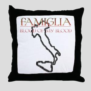 Famiglia Throw Pillow