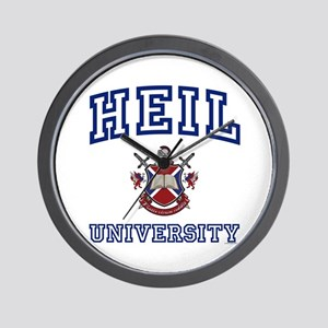HEIL University Wall Clock
