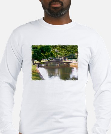 Bourton-On-The-Water Long Sleeve T-Shirt