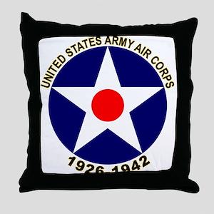 USAAC Army Air Corps Throw Pillow
