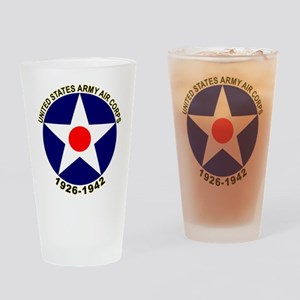 USAAC Army Air Corps Drinking Glass