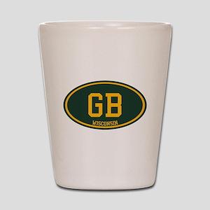 Green Bay Shot Glass