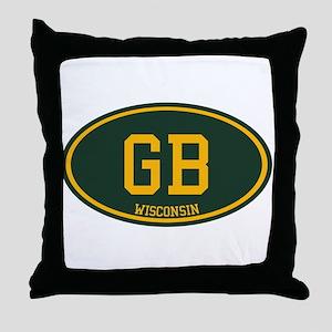 Green Bay Throw Pillow