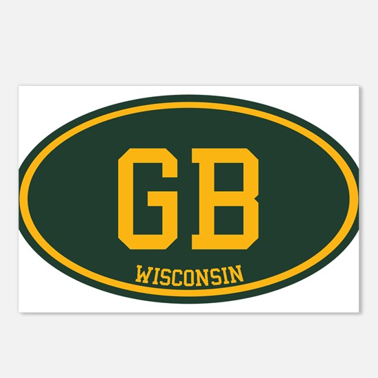 Green Bay Postcards (Package of 8)