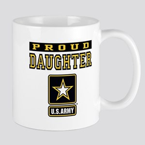 Proud Daughter U.S. Army Mug