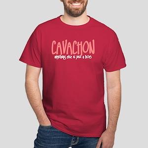 Cavachon JUST A DOG Dark T-Shirt