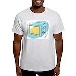 Pop Art - 'Microwave' Ash Grey T-Shirt
