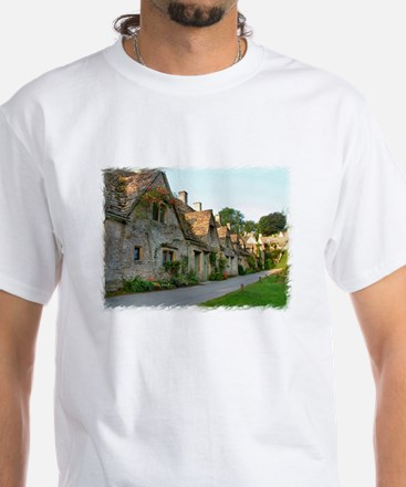 Arlington Row - Bibury White T-Shirt
