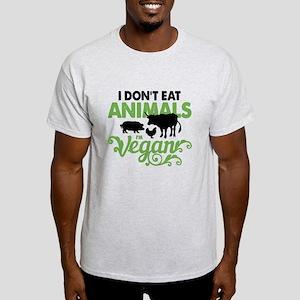 Vegan Animals Light T-Shirt