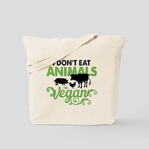 Vegan Animals Tote Bag