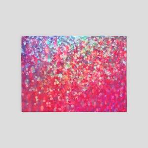 Glittery 5'x7'Area Rug