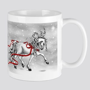 Christmas Snow Bells Mugs
