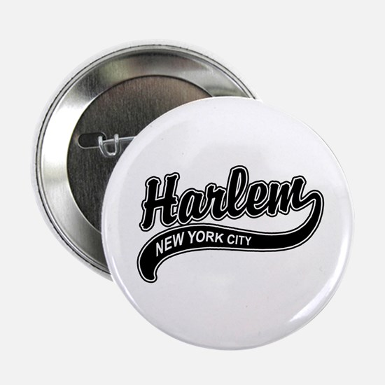 Harlem New York City Button