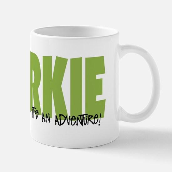 Chorkie IT'S AN ADVENTURE Mug