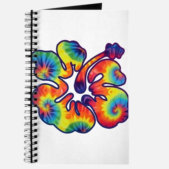 hibiscus tie dye 1 Journal