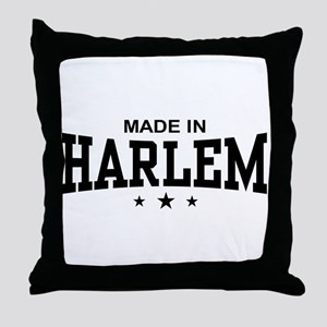 Made In Harlem Throw Pillow