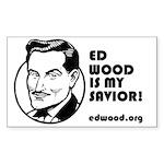 Ed Wood is my Savior Sticker