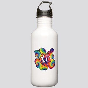 hibiscus tie dye 1 Stainless Water Bottle 1.0L