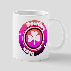 Bowling Diva 11 oz Ceramic Mug