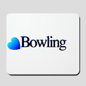 Heart Bowling Mousepad