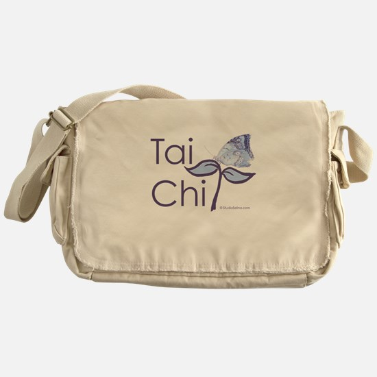 Tai Chi Butterfly 2 Messenger Bag