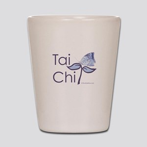 Tai Chi Butterfly 2 Shot Glass