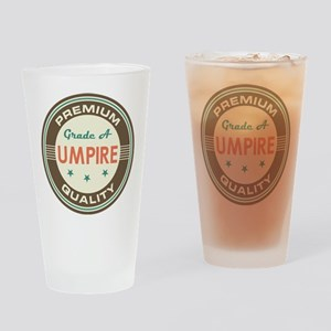 Umpire Vintage Drinking Glass