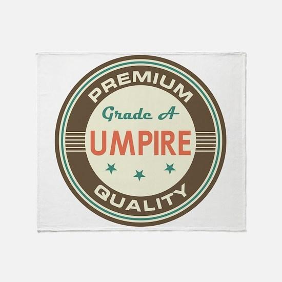 Umpire Vintage Throw Blanket