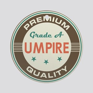 Umpire Vintage Ornament (Round)