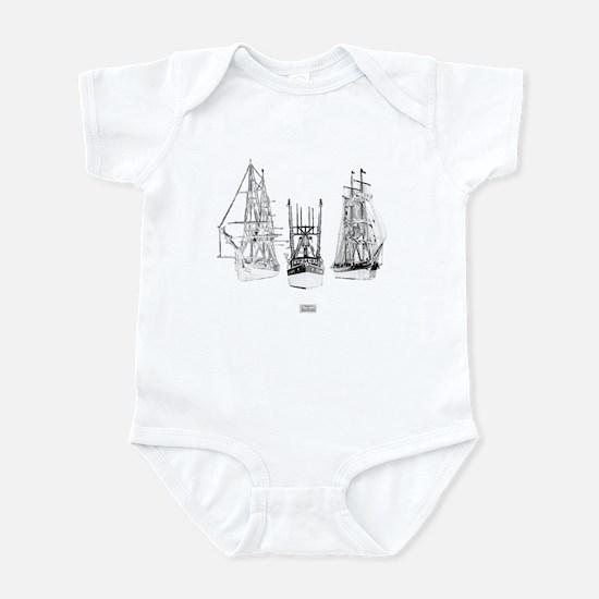 Pirates Through The Ages Infant Bodysuit