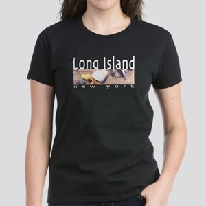 Long Island Women's Dark T-Shirt