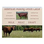 Milking Devon Wall Calendar