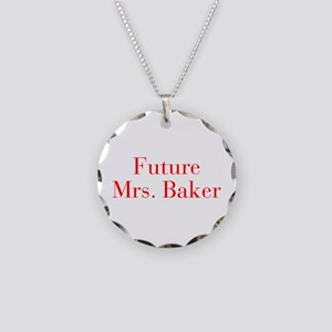 Future Mrs Baker-bod red Necklace