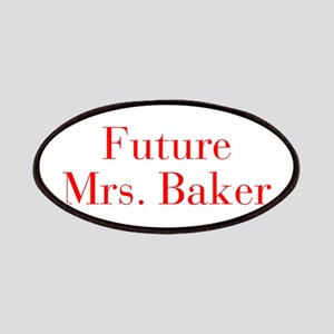 Future Mrs Baker-bod red Patches