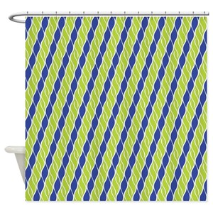 Solid Bright Color Shower Curtains