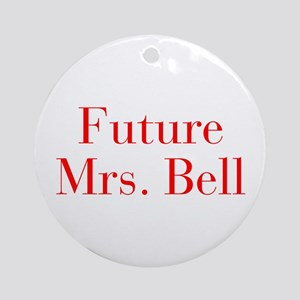 Future Mrs Bell-bod red Ornament (Round)