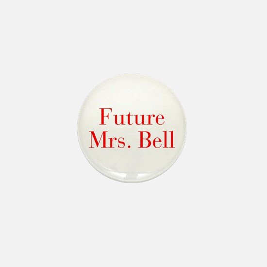 Future Mrs Bell-bod red Mini Button (10 pack)