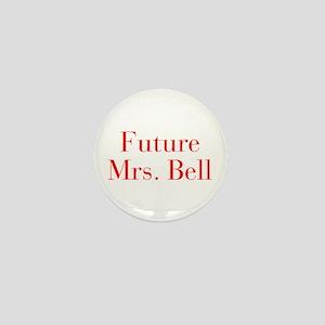 Future Mrs Bell-bod red Mini Button
