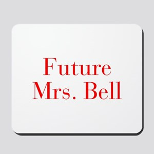 Future Mrs Bell-bod red Mousepad